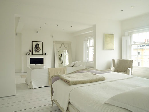 SeekingDecor All White Bedrooms Sleeping On A Cloud