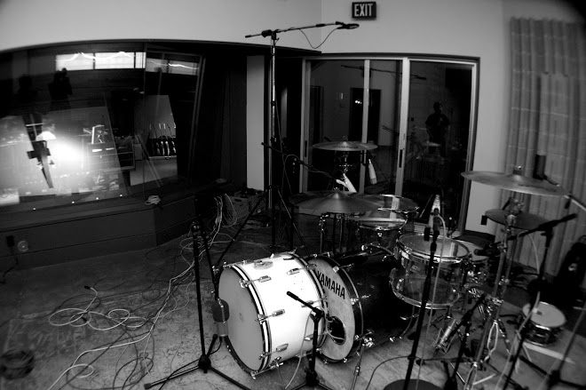Drum Setup at Counterpoint Studios.