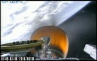 Lo stadio superiore del Falcon 9 entra in orbita