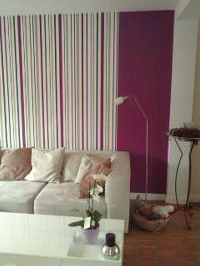 wohnzimmer deko lila:PADER – DEKO – PERLE: Neue Wandgestaltung in meinem Wohnzimmer