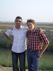 أنا وصديقي الروسي في الفيوم لتعميق العلاقات الروسية الفيومية