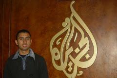 في قناة الجزيرة القطرية