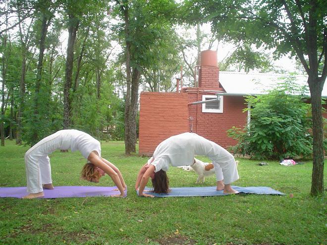 Retiros y Vacaciones yoguicas