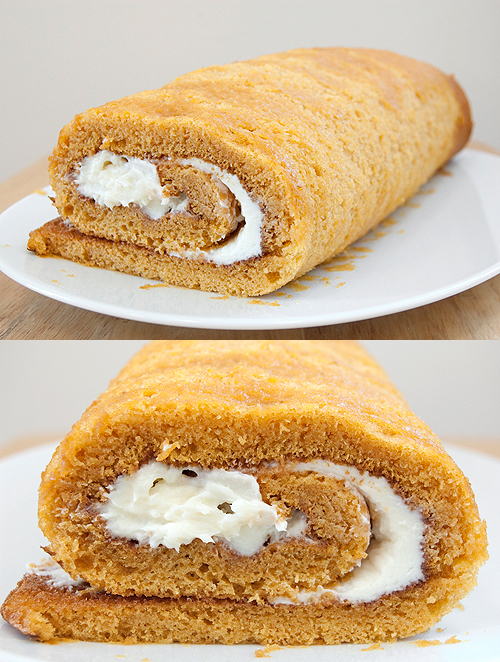 Image Result For How To Make A Pumpkin Roll
