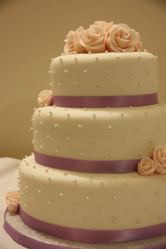 Cake Attempts Pearl Wedding Cake