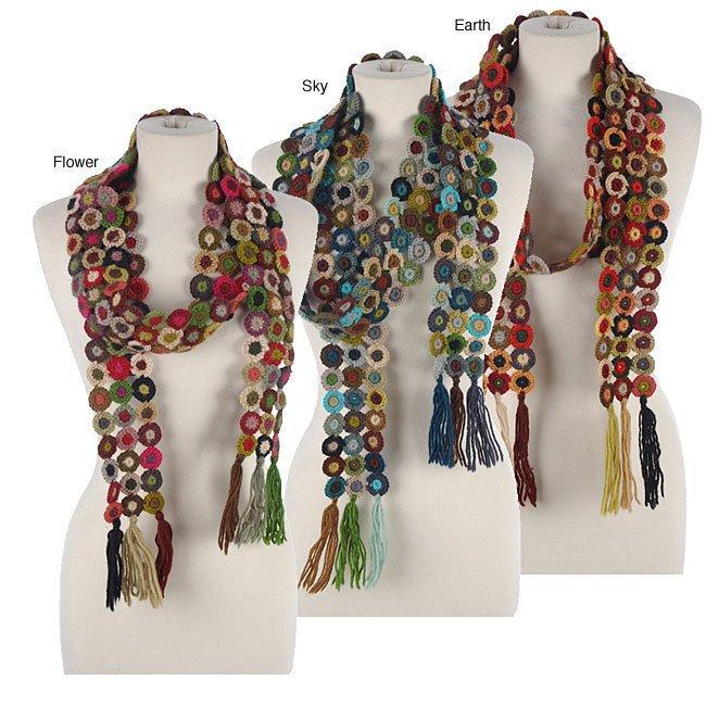 bufandas,, coloridas