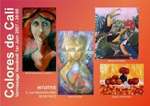 """Virginia Hernandez organiza Exposicion """"Colores de Cali"""", Intuive en Niza 2007"""