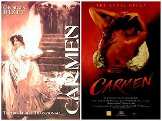 Carteles de la ópera Carmen