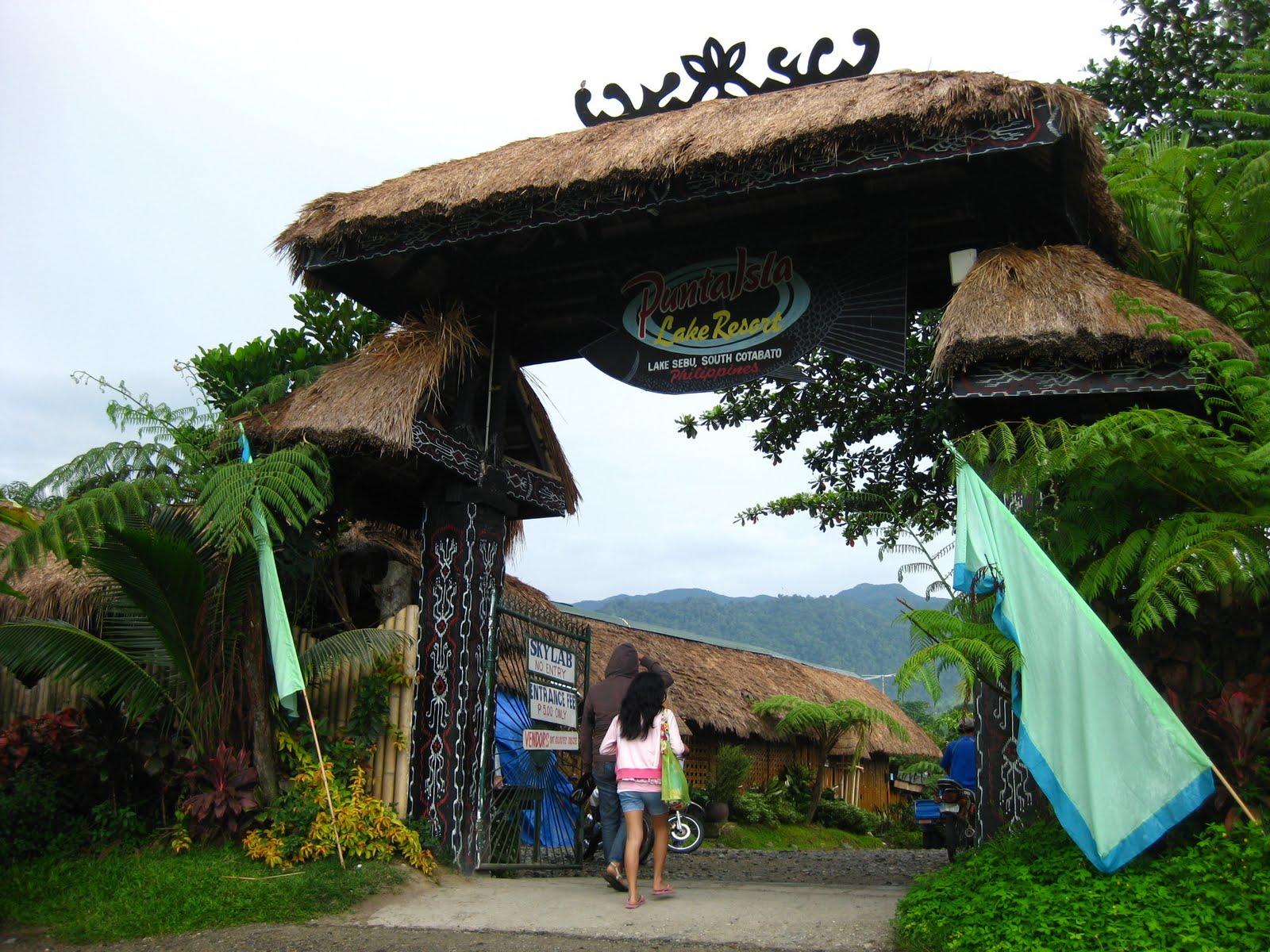 lake sebu philippines punta isla resort