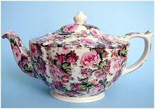 chintz teapot