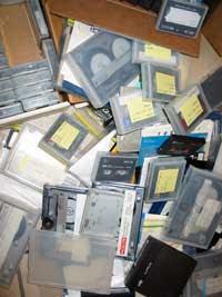 Old backup media