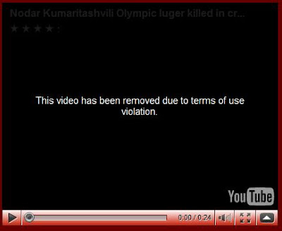 Olympic Luge Tragedy Video