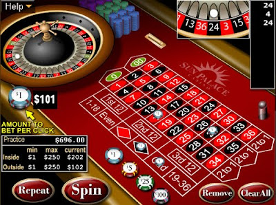 Roulette first, before Pharmacology Research Paper