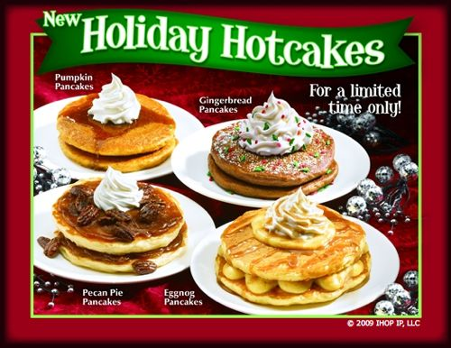 ihop holiday christmas