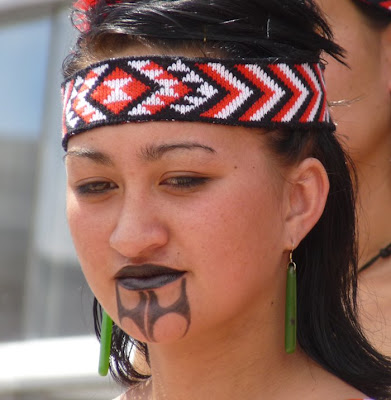 Contemporary Maori Tattoo