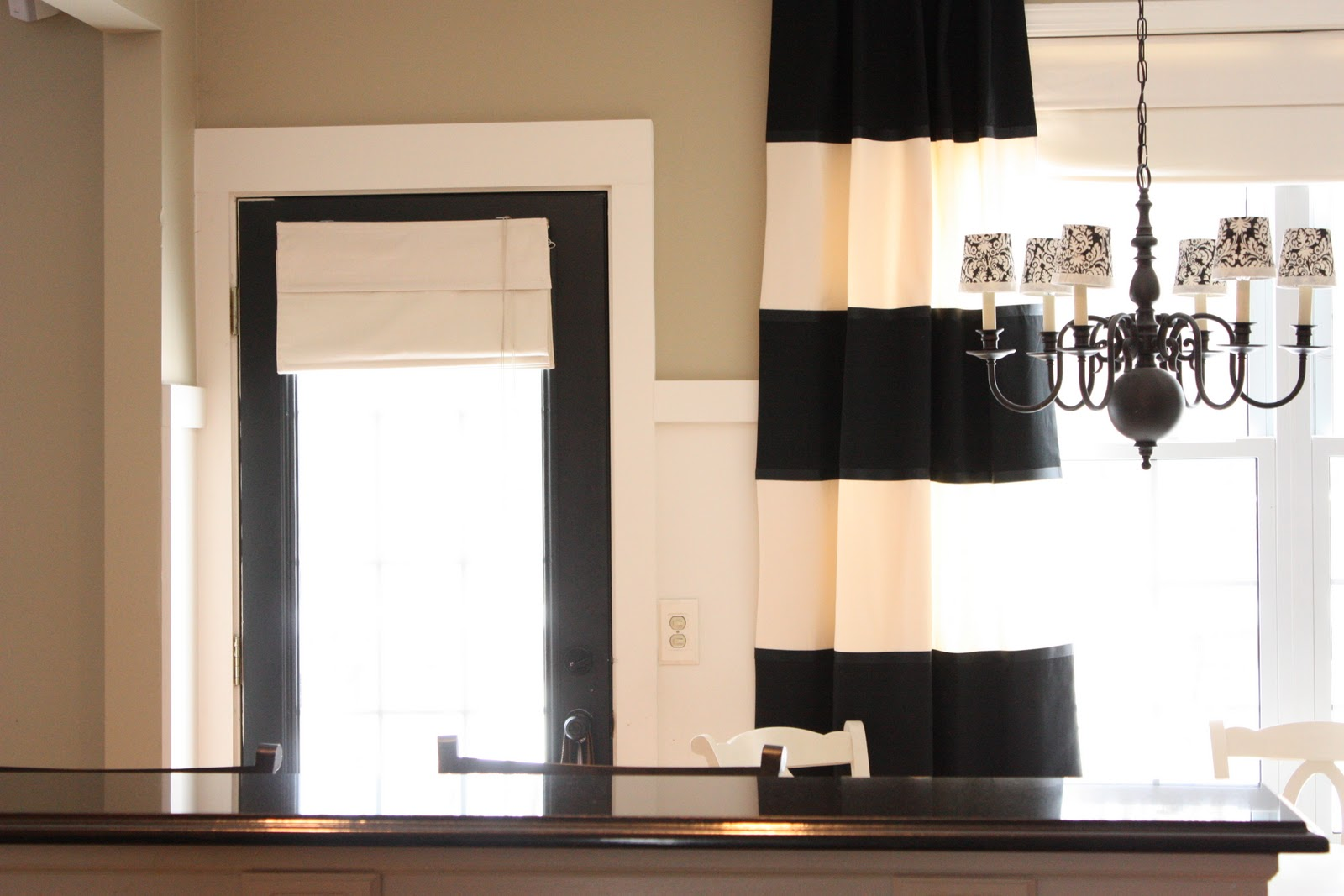 The Yellow Cape Cod Diy Striped Drapes