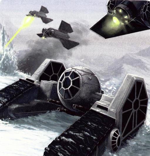 Wallpaper da Batalha de Hoth Pintado (Muito Legal)