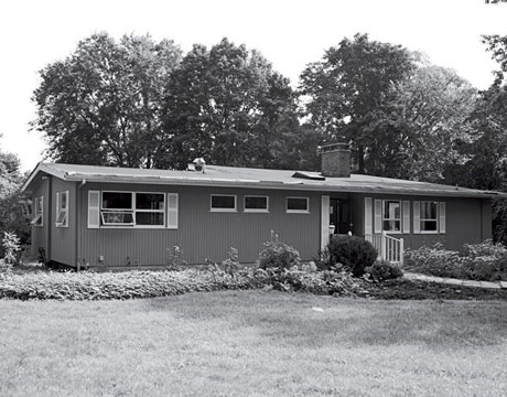 Annie Selke's Newly Purchased & Ripe for Remodel 1960's Ranch House