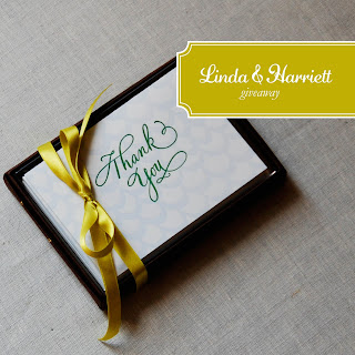 Linda & Harriet Thank You Cards