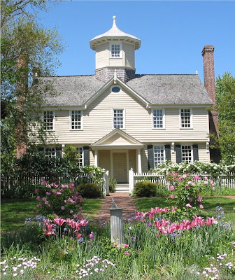 Cupola House Gardens in Bloom - Edenton, North Carolina, Chowan