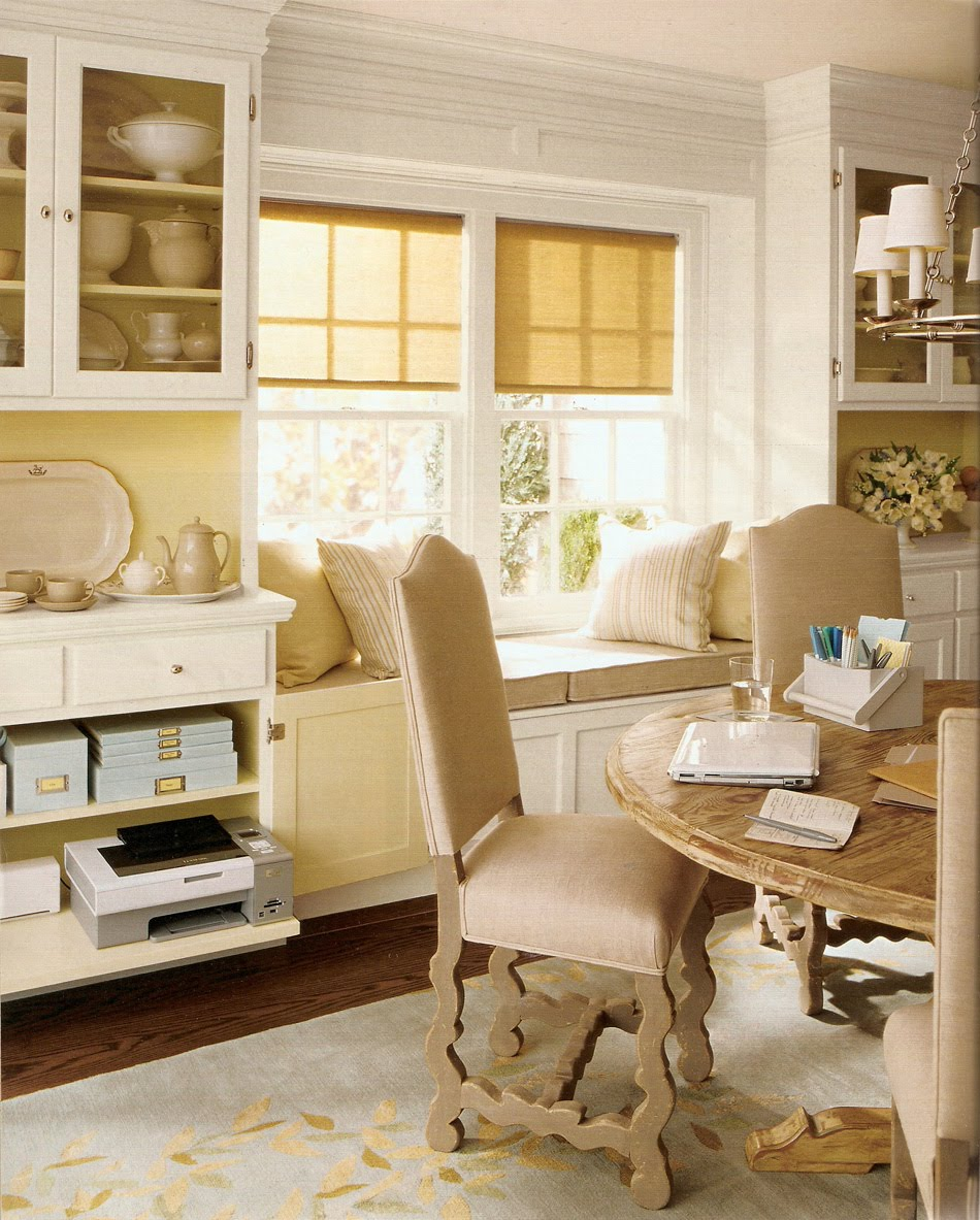 Martha moments 2010 05 for Office dining room ideas