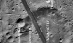 Photo NASA: Les bâtiments situés sur la Lune, la mission Lunar Orbiter, voir vidéo par SCW.