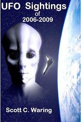 Observations d'OVNI de la période 2006-2009, livre par Scott C. Waring.