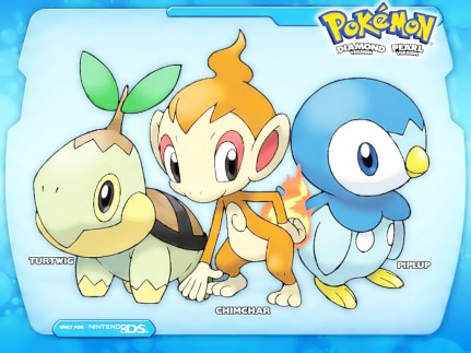 pokemon sinnoh adventures Pokemon_-_starters