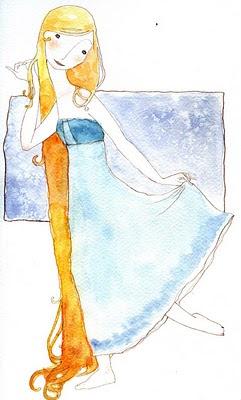il·lustració infantil, aquarel·la / children illustration, watercolor