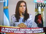 Presidenta barrabrava