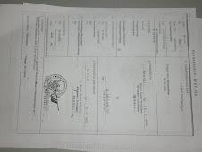 Foto Copy Certificate Tanah Gereja