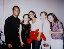 Valéria No Show no Ginásio Tesourinha em 2001 Com Marquinhos Gomes, Gisele Nascimento e Grupo Ellas