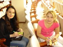 Valéria Rodrigues e sua Amiga a Cantora Fernanda Lara em 2006