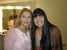 Valéria Rodrigues Com a querida Fernanda Brum