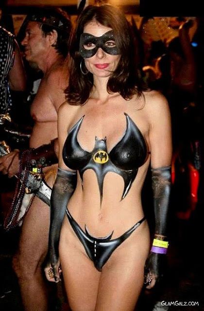 Reply))) adult body painting party and