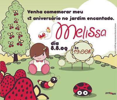 ilustração para impressão dos convites de aniversário de 1 ano da ...