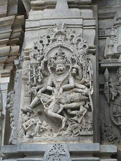 Ugra Nrashima sculpture