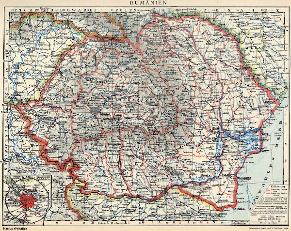 Harta României după primul război mondial