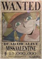 MISS VALENTINE 15.000.000