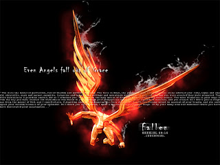 Even Angels Fall Out Of Grace HD Wallpaper