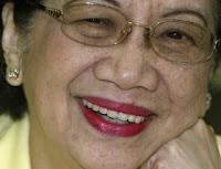 former President Cory Aquino