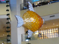Shangri-La fish display