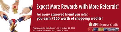 Free BPI Credit Card