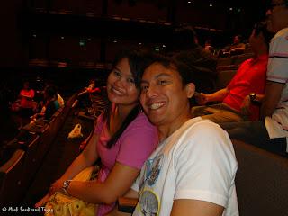 Me and Karla at Fusionpolis