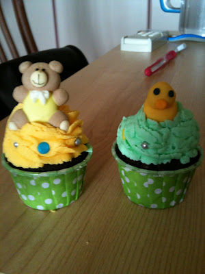 Mini Cup Cake Baby Shower Give Away 3