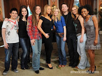 Mariah Carey with American Idol top 7