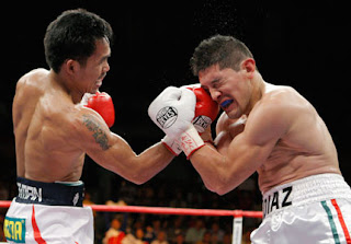 Manny Pacquiao wins over David Diaz on 9th round