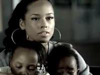Alicia Keys in Superwoman single mother