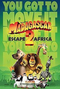 Top Box Office as of November 9, 2008 Madagascar 2