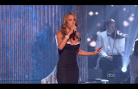 More Pictures of 2008 AMA Performance Mariah Carey
